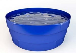 Reservatório de água sob medida