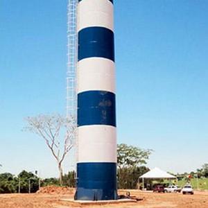 Reservatório de água bombeiro