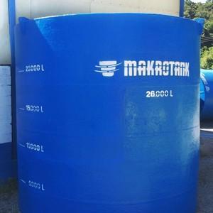 Reservatório para tratamento de efluentes industriais