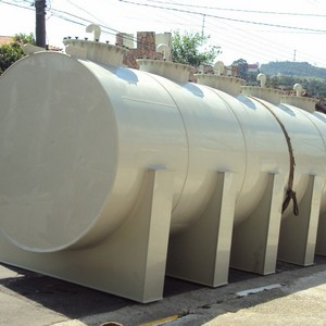 Tanque de fibra de vidro para indústria petroquímica