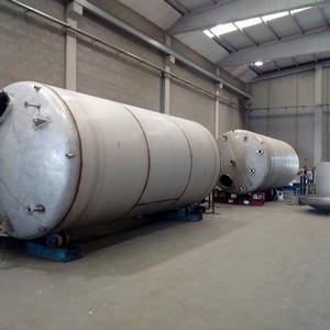 Tanque de polipropileno industrial